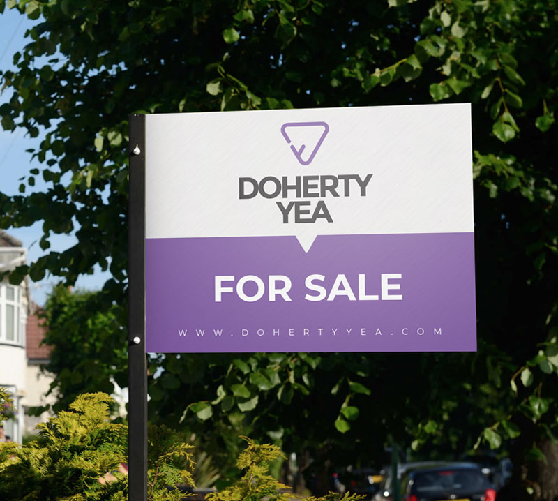 Property Sale Board